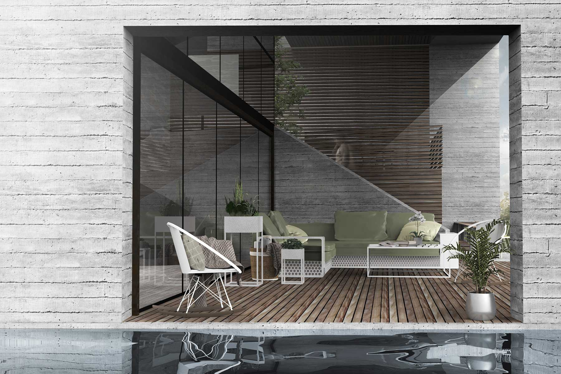 H2 (House Two) - architecture by Studio Y.