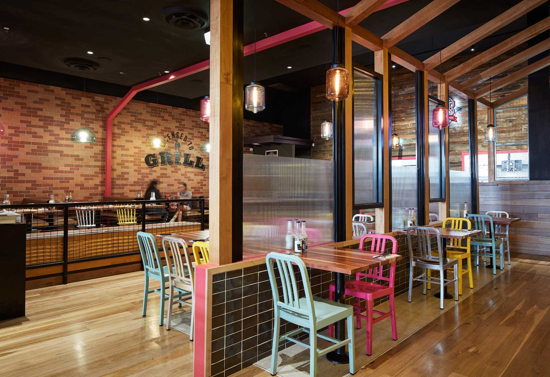 Hog's Breath, Knox - interior design by Studio Y.
