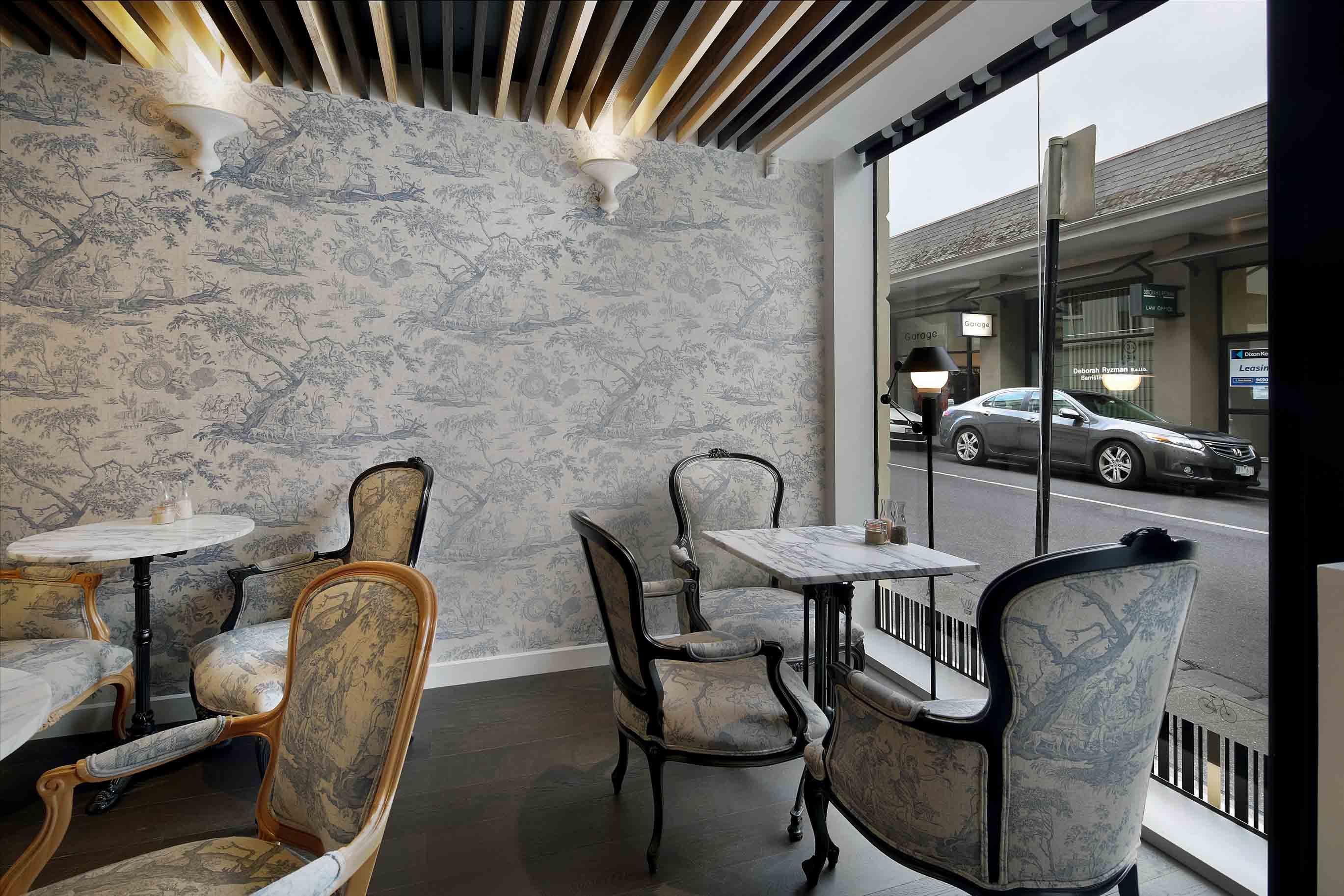 Cafe' de la Ville - interior design by Studio Y.