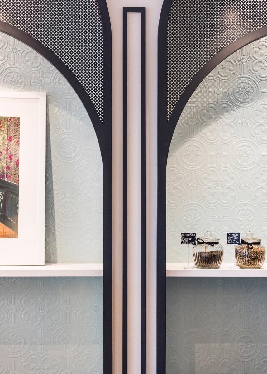 Chez Mademoiselle, Prahran - interior design by Studio Y.
