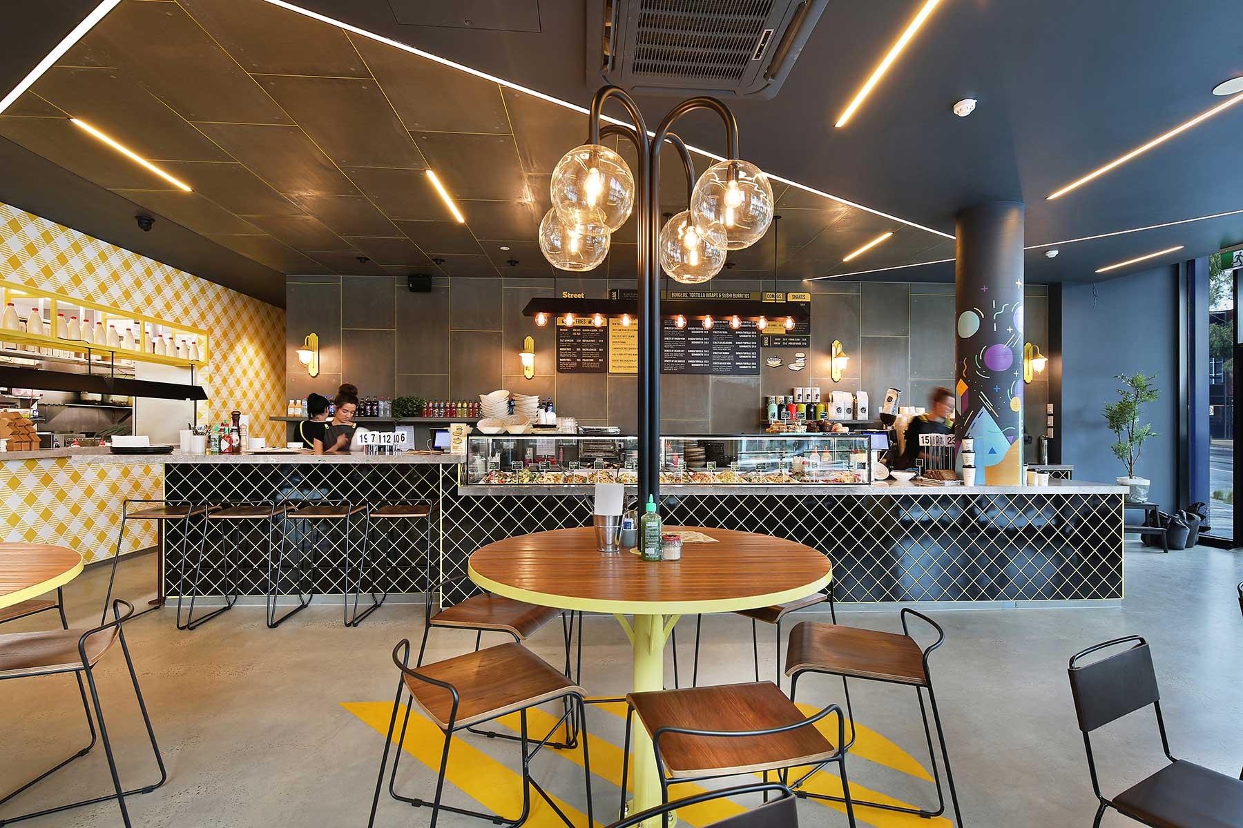 Street Kitchen, Burnley - interior design by Studio Y.