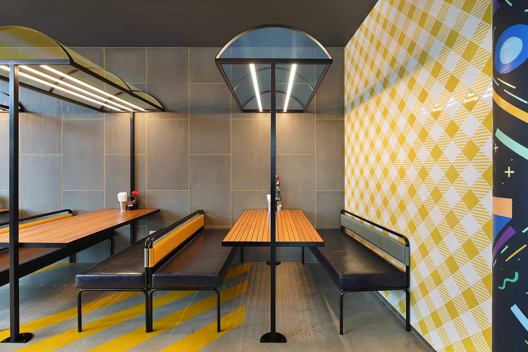 Street Kitchen, Burnley - interior design by Studio Y.