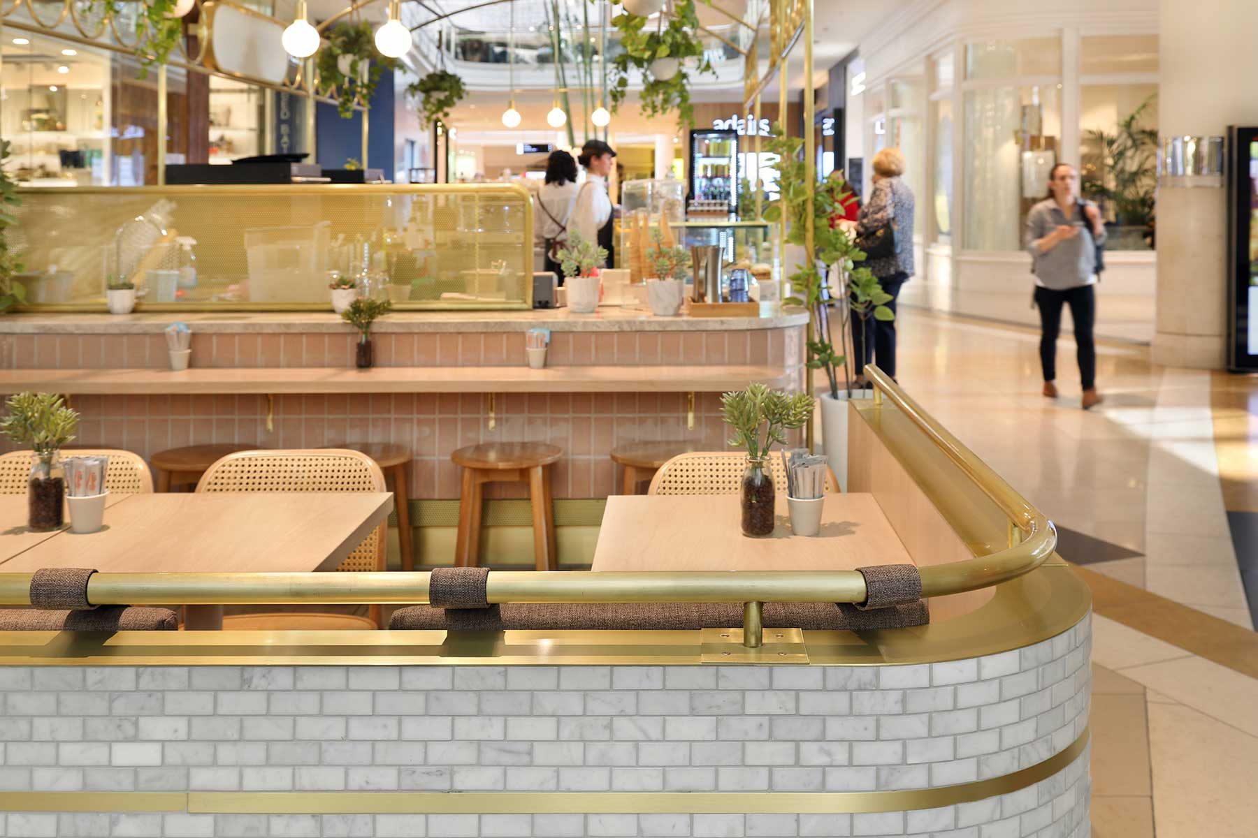 Bacetto Gelato, Chadstone - interior design by Studio Y.