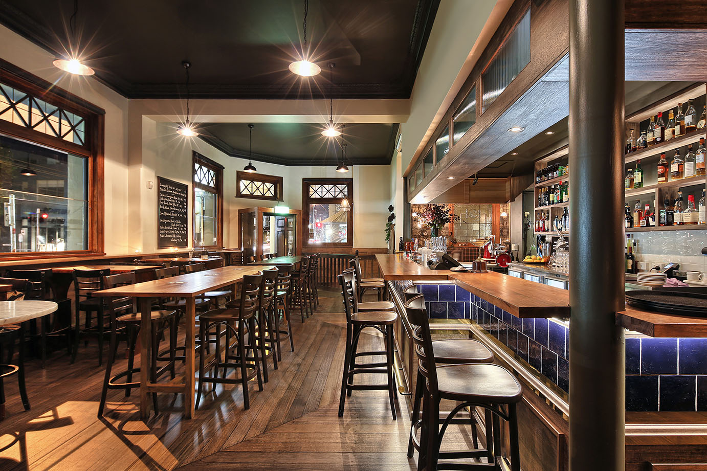 Fitzroy Town Hall Hotel - interior design by Studio Y.