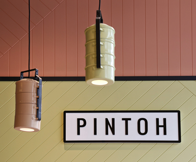 Pintoh - interior design by Studio Y.