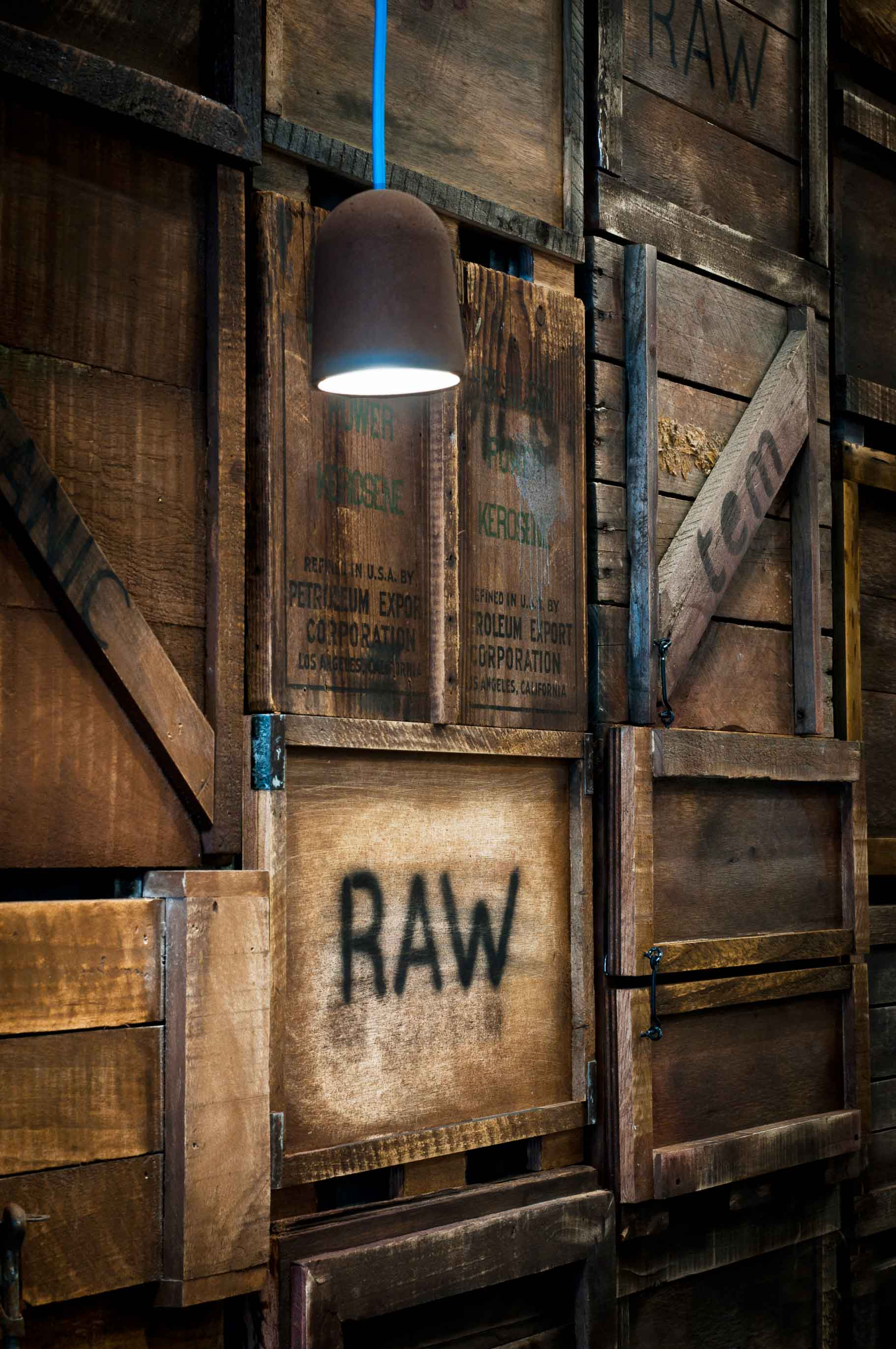 Raw Trader, Melbourne - interior design by Studio Y.
