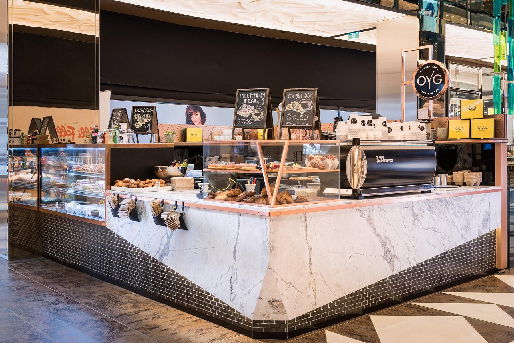 OYG Espresso Bar - interior design by Studio Y.