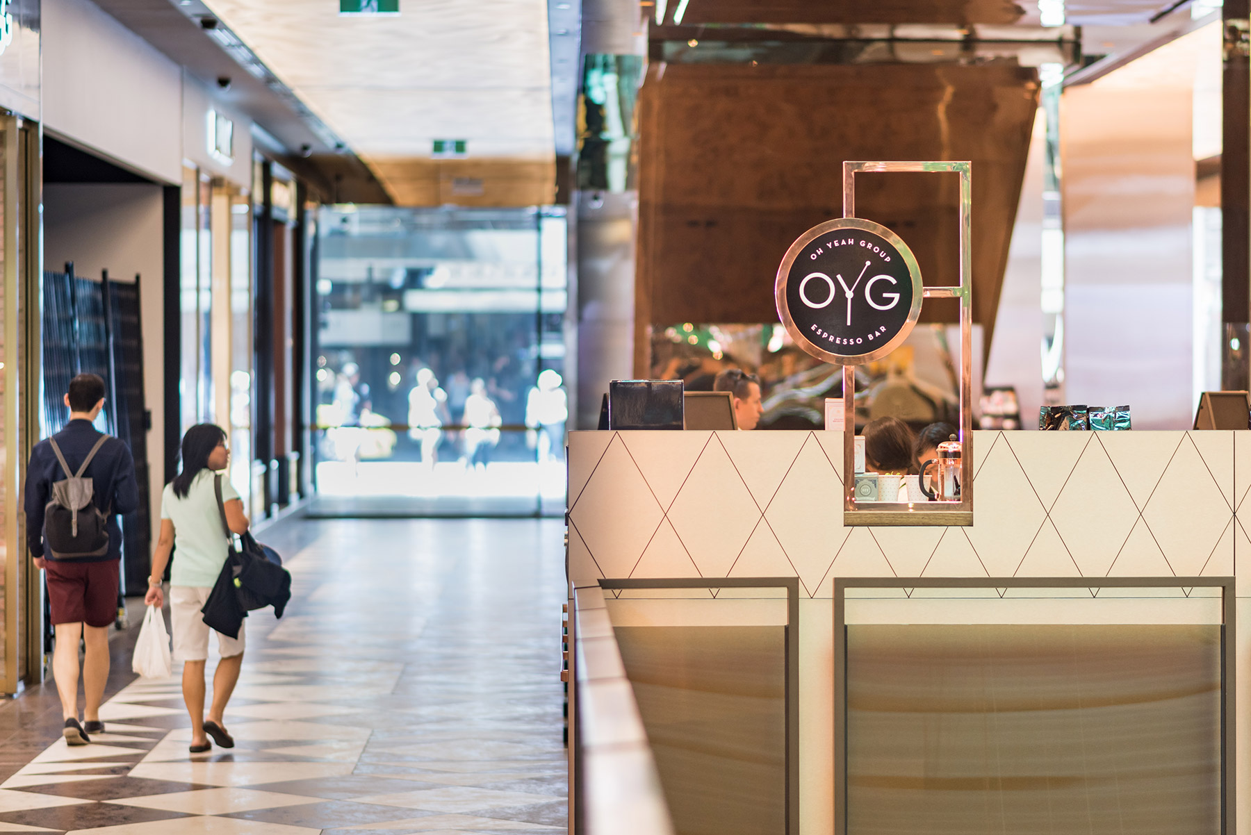OYG Espresso Bar - interior design by Studio Y.