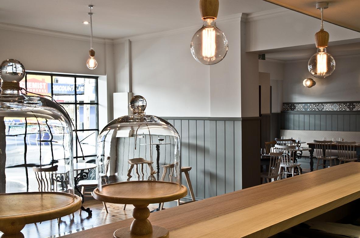 Sierra Tango Restaurant - interior design by Studio Y.