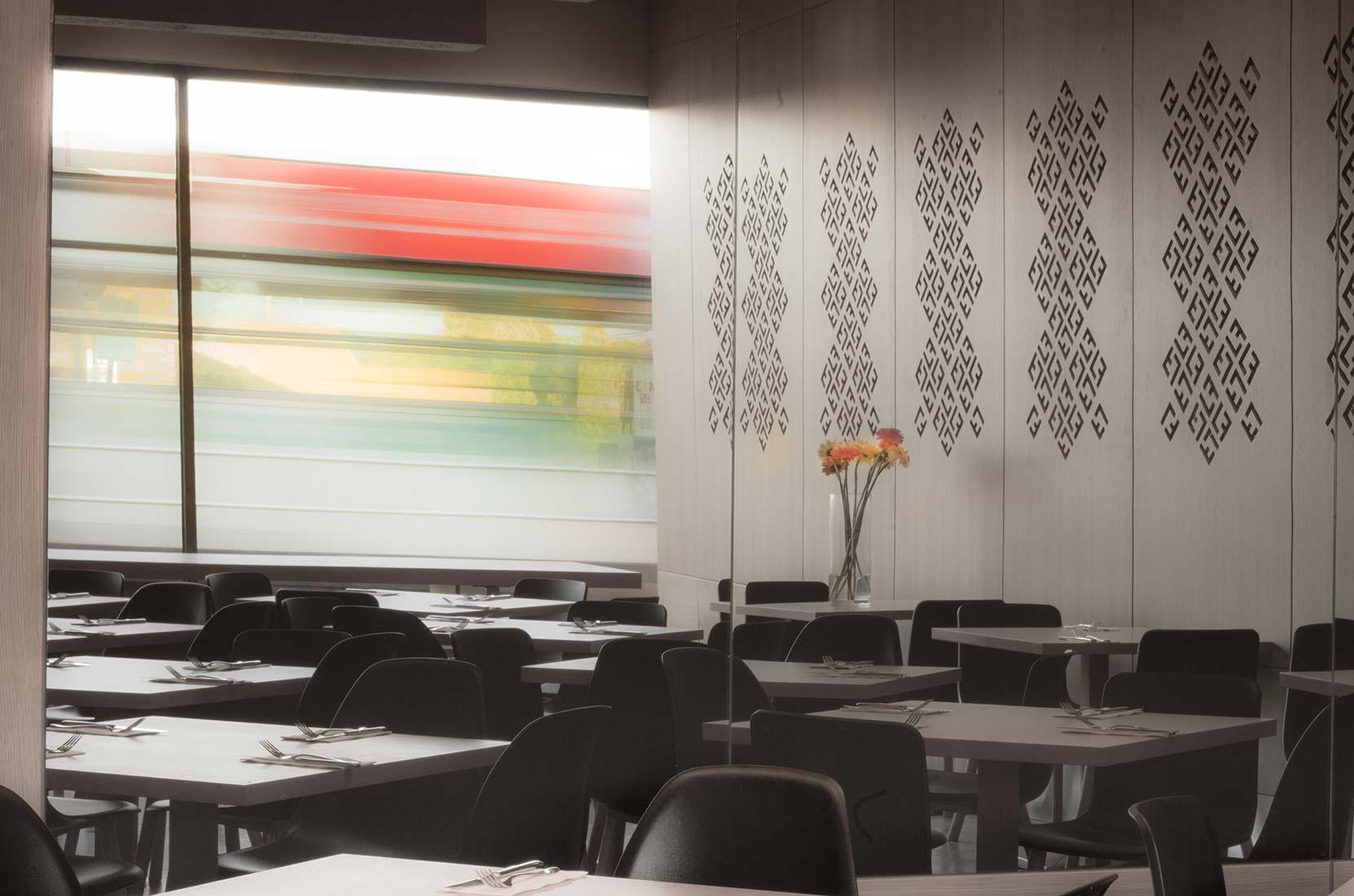 Laffa Bar - interior design by Studio Y.