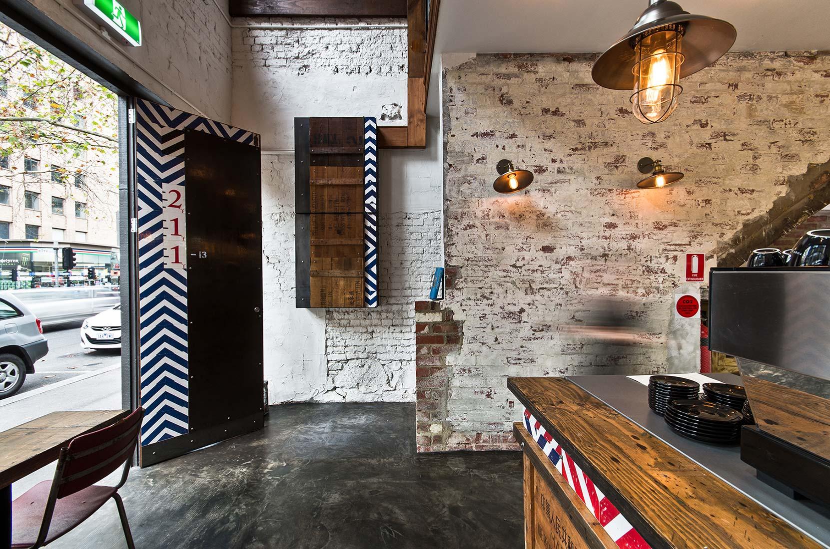 The Deli Counter - interior design by Studio Y.